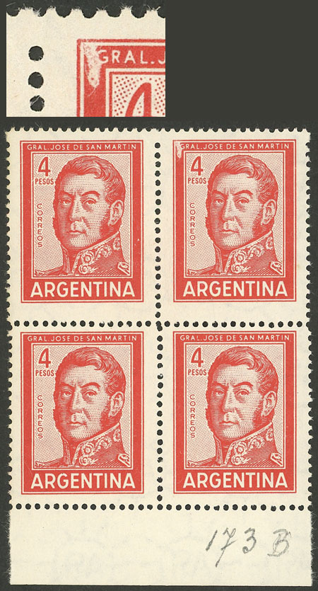 Lot 928 - Argentina general issues -  Guillermo Jalil - Philatino Auction # 2103 ARGENTINA: