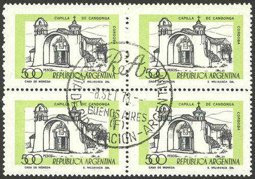Lot 1195 - Argentina general issues -  Guillermo Jalil - Philatino Auction # 2103 ARGENTINA: