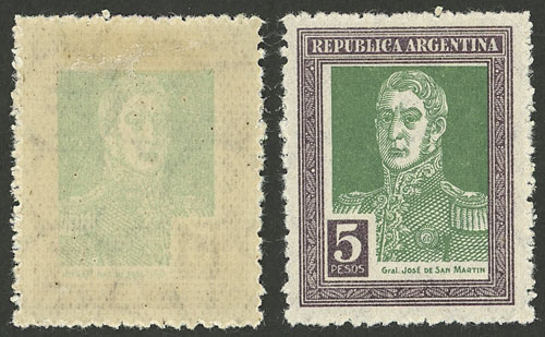 Lot 429 - Argentina general issues -  Guillermo Jalil - Philatino Auction # 2103 ARGENTINA: