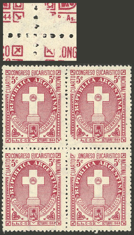 Lot 727 - Argentina general issues -  Guillermo Jalil - Philatino Auction # 2103 ARGENTINA: