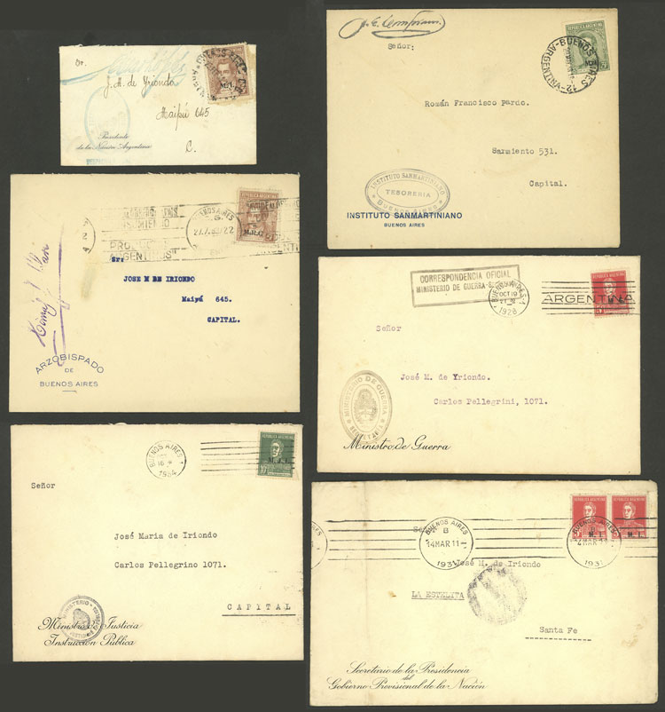 Lot 1804 - Argentina official stamps -  Guillermo Jalil - Philatino Auction # 2103 ARGENTINA: