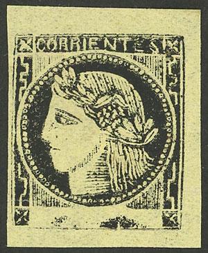 Lot 22 - Argentina corrientes -  Guillermo Jalil - Philatino Auction # 2103 ARGENTINA: