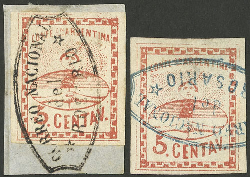 Lot 45 - Argentina confederation -  Guillermo Jalil - Philatino Auction # 2103 ARGENTINA: