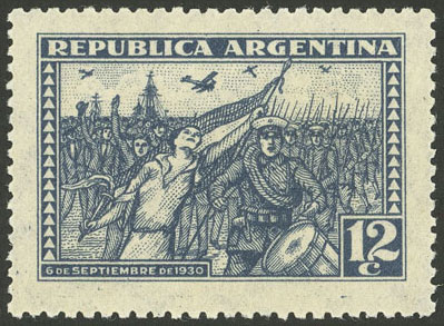 Lot 485 - Argentina general issues -  Guillermo Jalil - Philatino Auction # 2103 ARGENTINA: