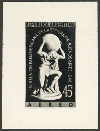 Lot 763 - Argentina general issues -  Guillermo Jalil - Philatino Auction # 2103 ARGENTINA: