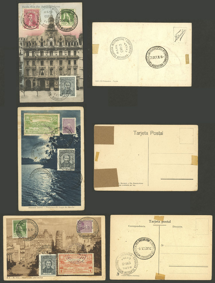 Lot 1941 - Argentina postal history -  Guillermo Jalil - Philatino Auction # 2103 ARGENTINA: