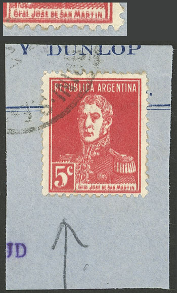Lot 452 - Argentina general issues -  Guillermo Jalil - Philatino Auction # 2103 ARGENTINA: