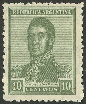Lot 415 - Argentina general issues -  Guillermo Jalil - Philatino Auction # 2103 ARGENTINA: