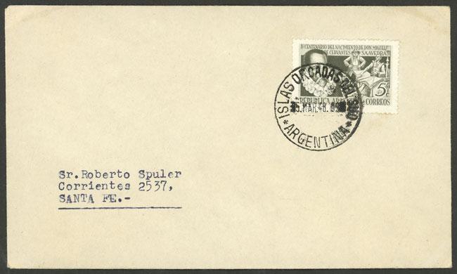 Lot 7 - ARGENTINE ANTARCTICA - ISLAS ORCADAS postal history -  Guillermo Jalil - Philatino Auction # 2103 ARGENTINA: