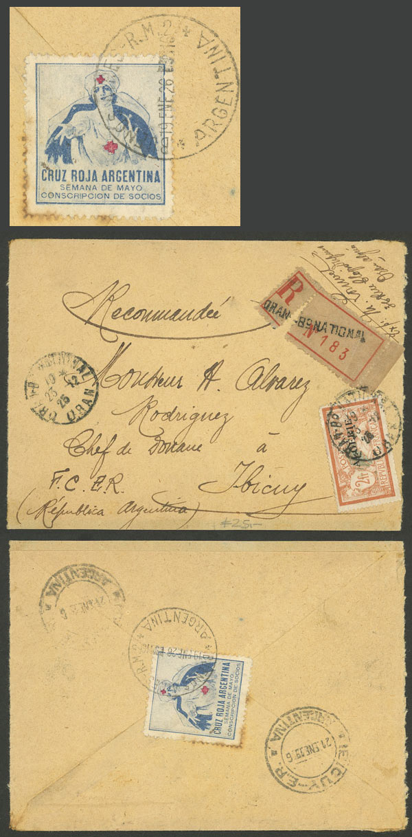 Lot 2168 - Argentina cinderellas -  Guillermo Jalil - Philatino Auction # 2103 ARGENTINA: