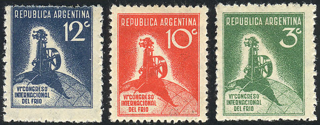 Lot 506 - Argentina general issues -  Guillermo Jalil - Philatino Auction # 2103 ARGENTINA: