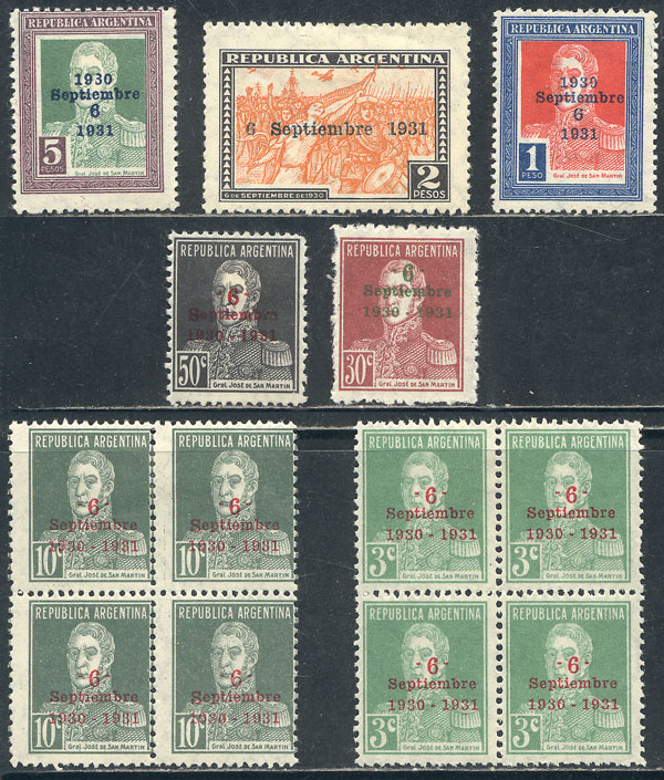 Lot 497 - Argentina general issues -  Guillermo Jalil - Philatino Auction # 2103 ARGENTINA: