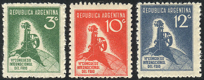 Lot 507 - Argentina general issues -  Guillermo Jalil - Philatino Auction # 2103 ARGENTINA: