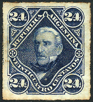 Lot 146 - Argentina general issues -  Guillermo Jalil - Philatino Auction # 2103 ARGENTINA: