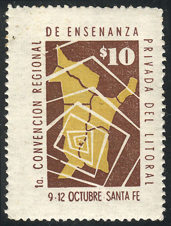 Lot 2153 - Argentina cinderellas -  Guillermo Jalil - Philatino Auction # 2103 ARGENTINA: