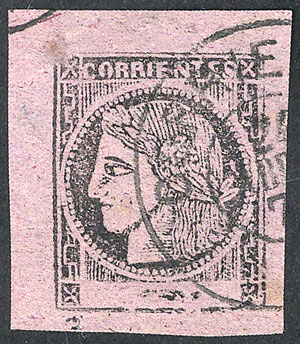Lot 13 - Argentina corrientes -  Guillermo Jalil - Philatino Auction # 2104 ARGENTINA: General auction with many