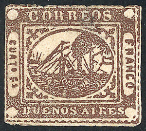 Lot 6 - Argentina buenos aires -  Guillermo Jalil - Philatino Auction # 2104 ARGENTINA: General auction with many
