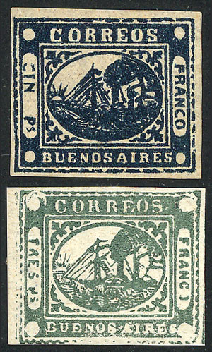Lot 5 - Argentina buenos aires -  Guillermo Jalil - Philatino Auction # 2104 ARGENTINA: General auction with many