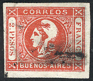 Lot 7 - Argentina buenos aires -  Guillermo Jalil - Philatino Auction # 2104 ARGENTINA: General auction with many