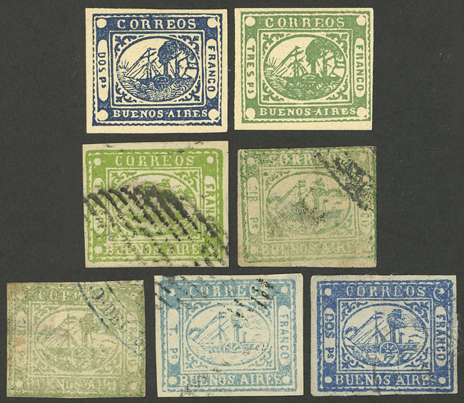 Lot 3 - Argentina buenos aires -  Guillermo Jalil - Philatino Auction # 2104 ARGENTINA: General auction with many