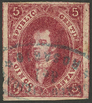 Lot 60 - Argentina rivadavias -  Guillermo Jalil - Philatino Auction # 2104 ARGENTINA: General auction with many