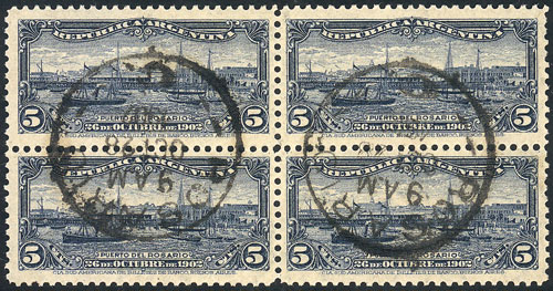 Lot 295 - Argentina general issues -  Guillermo Jalil - Philatino Auction # 2104 ARGENTINA: General auction with many