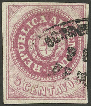 Lot 25 - Argentina escuditos -  Guillermo Jalil - Philatino Auction # 2104 ARGENTINA: General auction with many