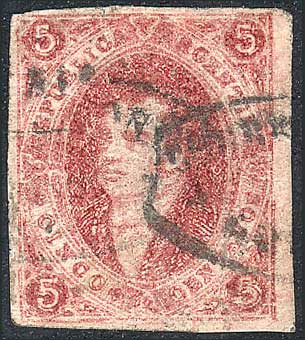 Lot 65 - Argentina rivadavias -  Guillermo Jalil - Philatino Auction # 2104 ARGENTINA: General auction with many
