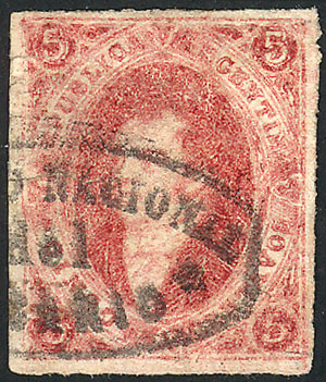 Lot 66 - Argentina rivadavias -  Guillermo Jalil - Philatino Auction # 2104 ARGENTINA: General auction with many