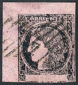Lot 12 - Argentina corrientes -  Guillermo Jalil - Philatino Auction # 2104 ARGENTINA: General auction with many