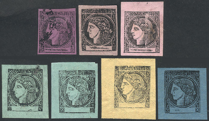 Lot 14 - Argentina corrientes -  Guillermo Jalil - Philatino Auction # 2104 ARGENTINA: General auction with many