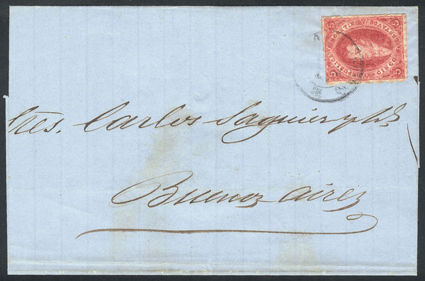 Lot 59 - Argentina rivadavias -  Guillermo Jalil - Philatino Auction # 2104 ARGENTINA: General auction with many