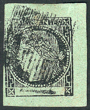 Lot 10 - Argentina corrientes -  Guillermo Jalil - Philatino Auction # 2106 ARGENTINA: Auction with interesting lots at budget prices!