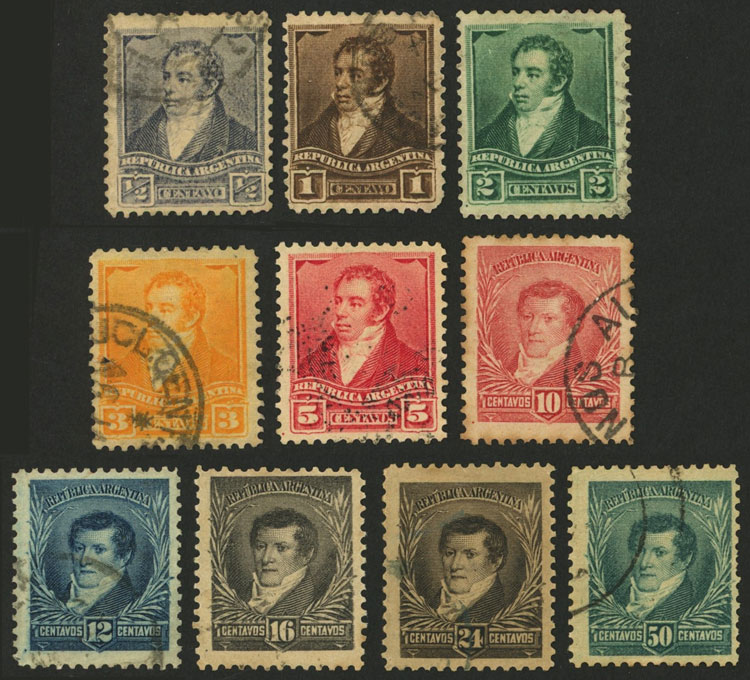 Lot 163 - Argentina general issues -  Guillermo Jalil - Philatino Auction # 2106 ARGENTINA: Auction with interesting lots at budget prices!
