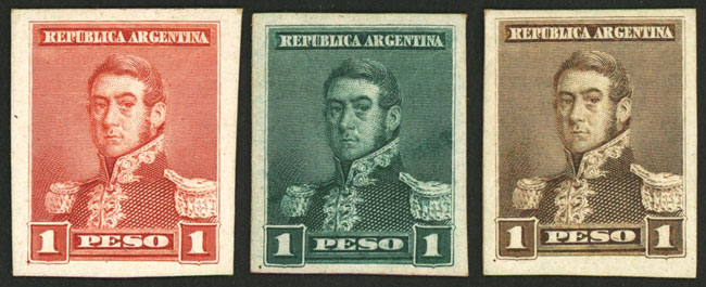 Lot 159 - Argentina general issues -  Guillermo Jalil - Philatino Auction # 2106 ARGENTINA: Auction with interesting lots at budget prices!