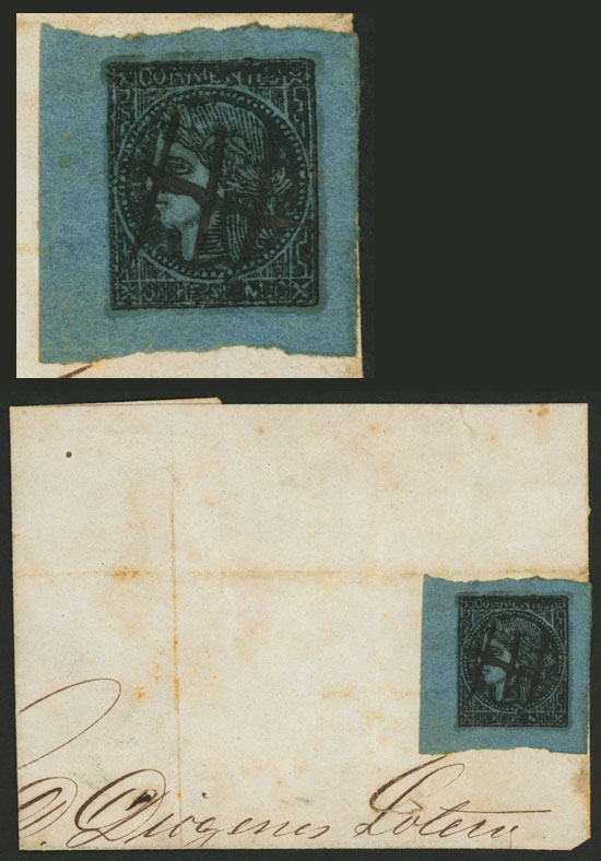 Lot 8 - Argentina corrientes -  Guillermo Jalil - Philatino Auction # 2106 ARGENTINA: Auction with interesting lots at budget prices!