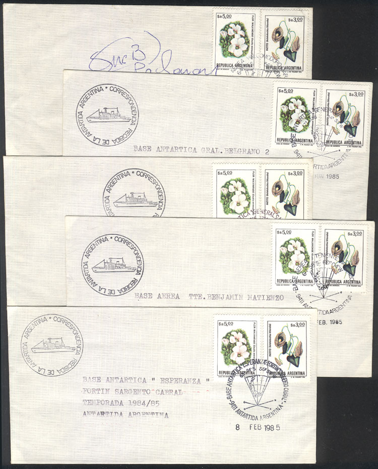 Lot 3 - argentine antarctica postal history -  Guillermo Jalil - Philatino Auction # 2106 ARGENTINA: Auction with interesting lots at budget prices!