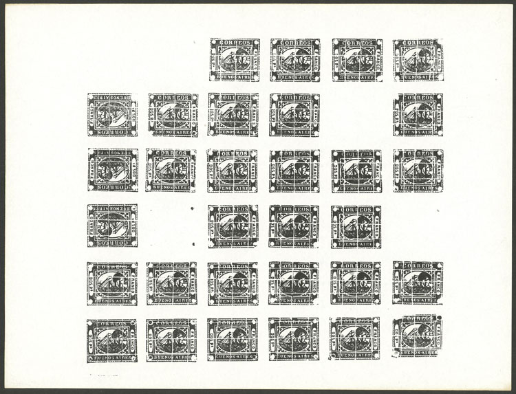 Lot 5 - Argentina barquitos -  Guillermo Jalil - Philatino Auction # 2106 ARGENTINA: Auction with interesting lots at budget prices!