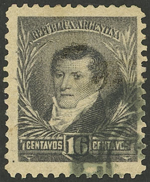 Lot 166 - Argentina general issues -  Guillermo Jalil - Philatino Auction # 2106 ARGENTINA: Auction with interesting lots at budget prices!