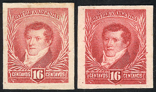 Lot 158 - Argentina general issues -  Guillermo Jalil - Philatino Auction # 2106 ARGENTINA: Auction with interesting lots at budget prices!