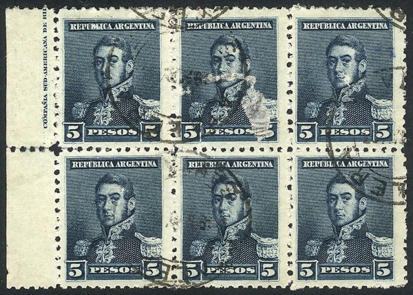 Lot 161 - Argentina general issues -  Guillermo Jalil - Philatino Auction # 2106 ARGENTINA: Auction with interesting lots at budget prices!