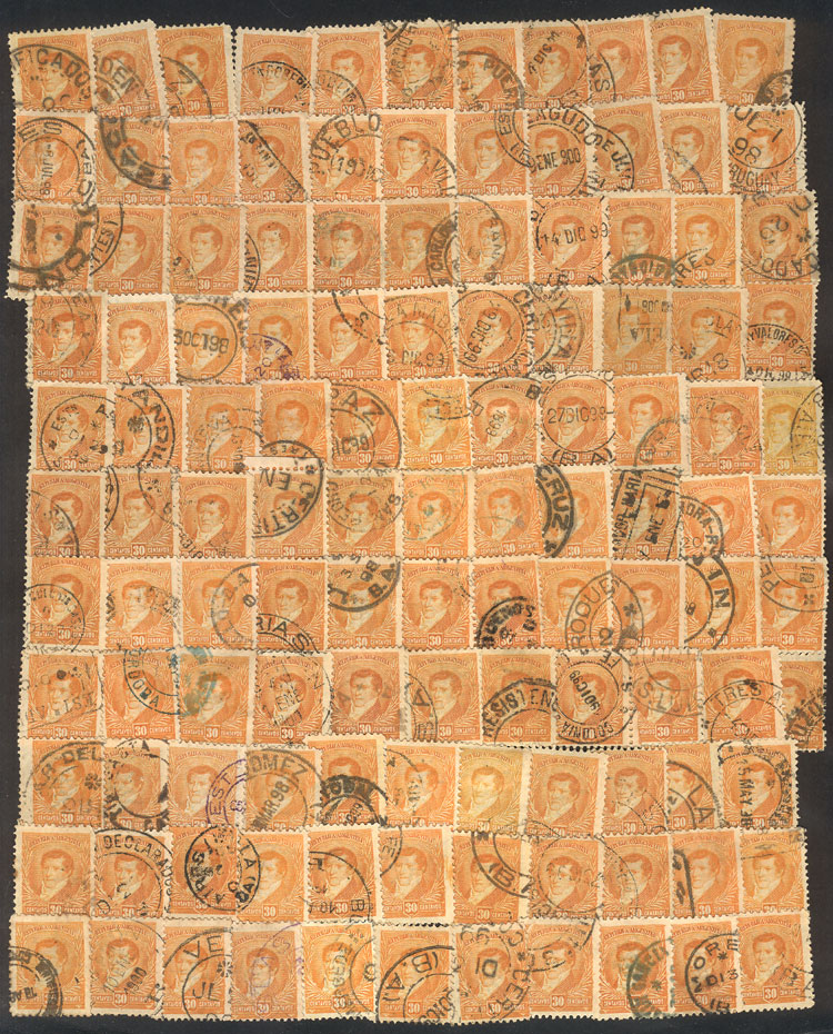 Lot 171 - Argentina general issues -  Guillermo Jalil - Philatino Auction # 2106 ARGENTINA: Auction with interesting lots at budget prices!