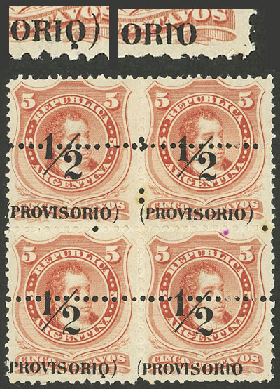 Lot 31 - Argentina general issues -  Guillermo Jalil - Philatino Auction # 2107 ARGENTINA: Special March auction