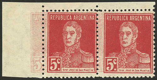 Lot 90 - Argentina general issues -  Guillermo Jalil - Philatino Auction # 2107 ARGENTINA: Special March auction