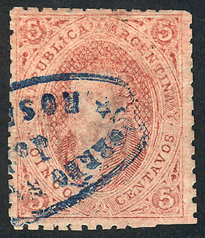 Lot 11 - Argentina rivadavias -  Guillermo Jalil - Philatino Auction # 2107 ARGENTINA: Special March auction