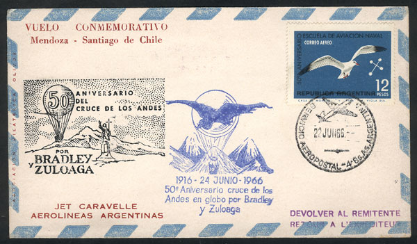Lot 1195 - Argentina postal history -  Guillermo Jalil - Philatino Auction # 2109 ARGENTINA: great auction with very interesting lots, low starts!