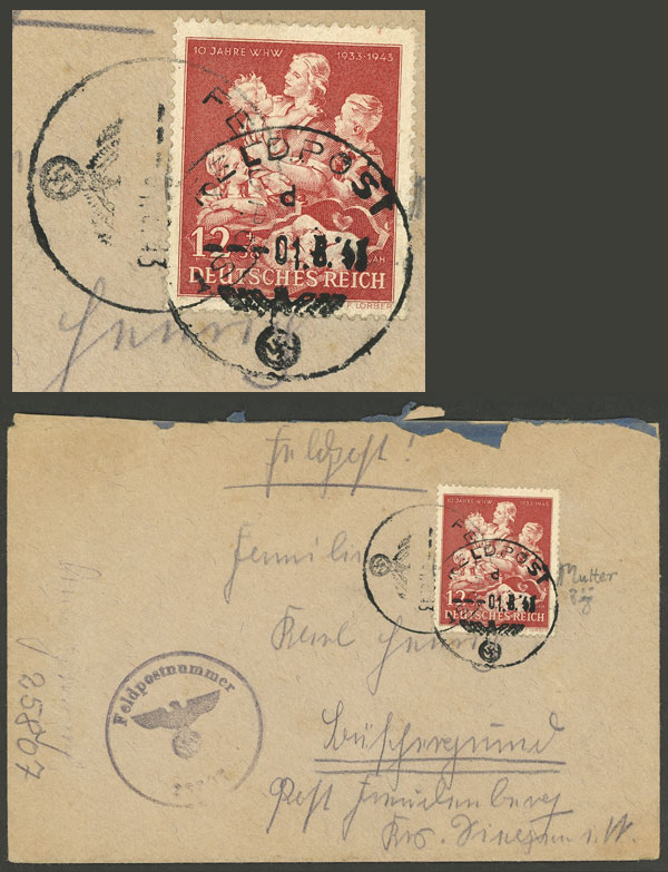 Lot 98 - germany postal history -  Guillermo Jalil - Philatino Auction # 2110 WORLDWIDE + ARGENTINA: End of Summer auction