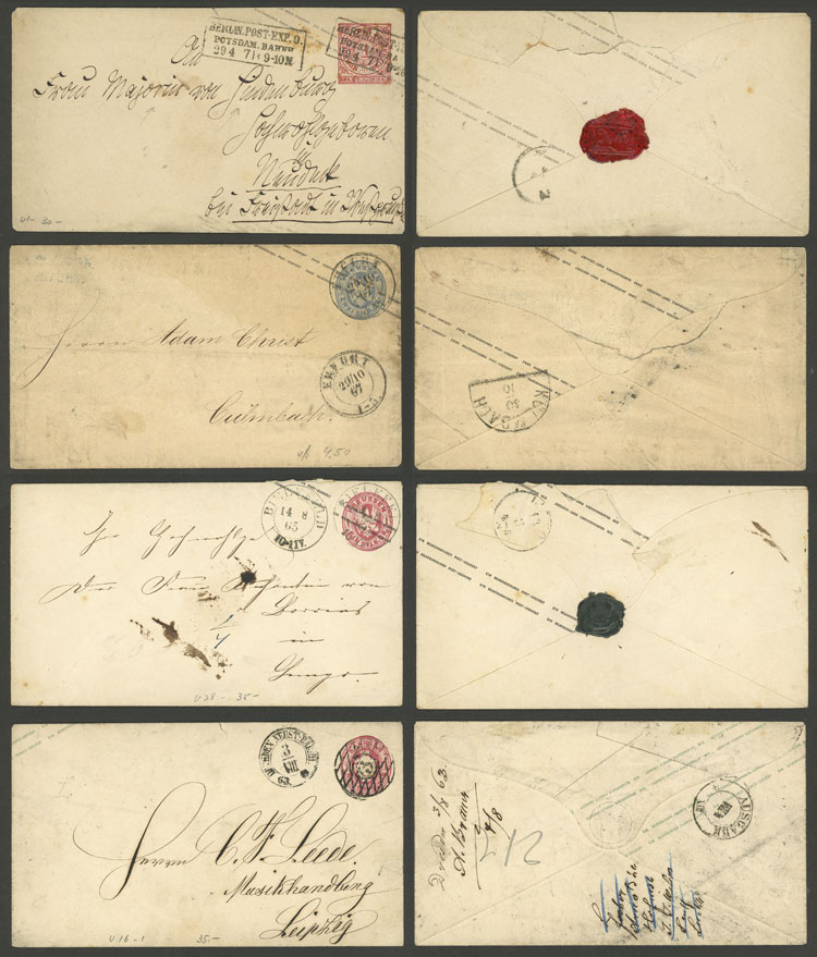 Lot 53 - germany postal history -  Guillermo Jalil - Philatino Auction # 2110 WORLDWIDE + ARGENTINA: End of Summer auction