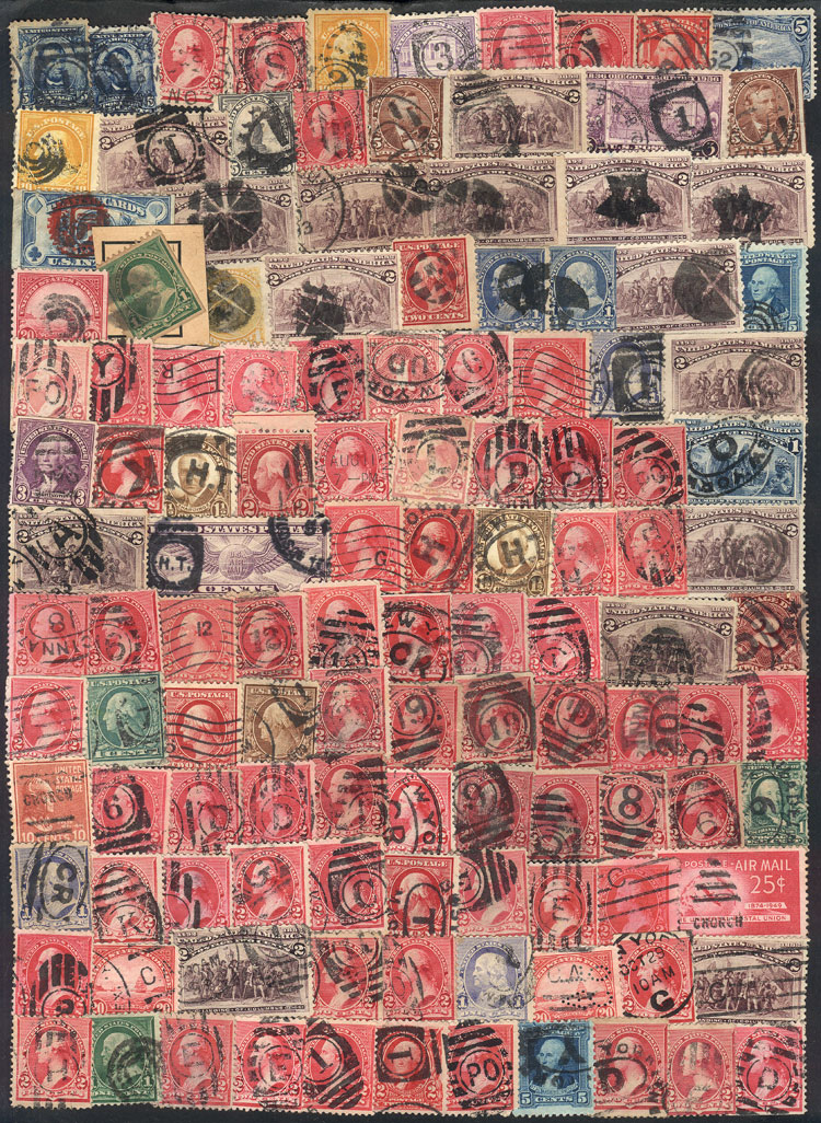 Lot 784 - united states Lots and Collections -  Guillermo Jalil - Philatino Auction # 2110 WORLDWIDE + ARGENTINA: End of Summer auction