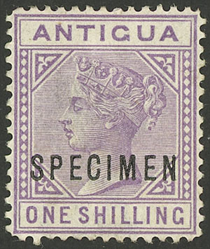 Lot 141 - antigua general issues -  Guillermo Jalil - Philatino Auction # 2110 WORLDWIDE + ARGENTINA: End of Summer auction